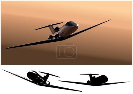 Vector business-jet