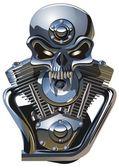 Vector metall Jolly Roger
