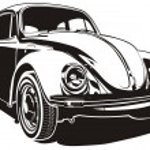 Vector illustration VW Bug...