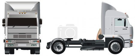 Вектор грузовик