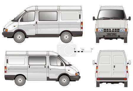 Vector Delivery Van