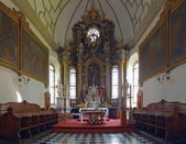Interior the old Cathedral in Zamosc, Po