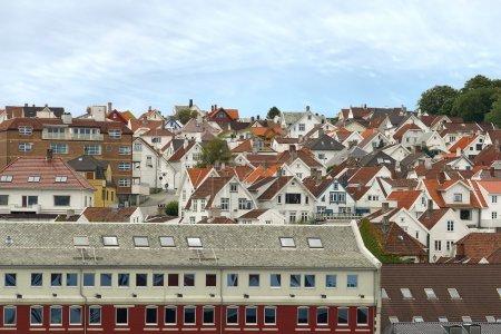 Roofs of Stavanger.