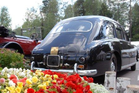 Vintage car on exhibition