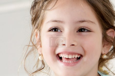 Photo for Happy little girl. Portrait - Royalty Free Image