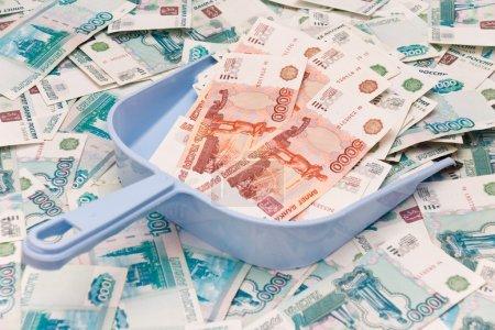 Scoop and money