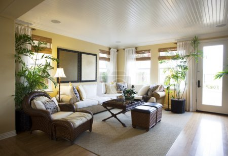 Photo for Luxury modern living room interior - Royalty Free Image