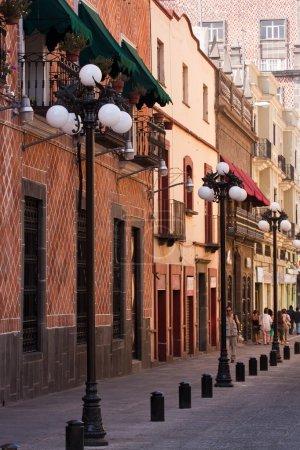 Foto de Calles de la ciudad vieja de Puebla - Imagen libre de derechos