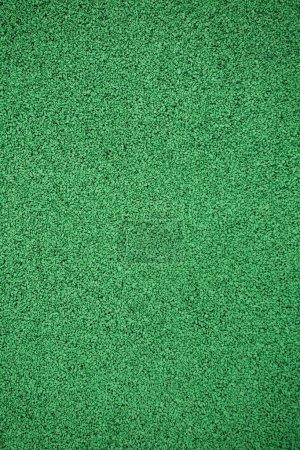 Photo pour Le revêtement à partir d'une miette de caoutchouc (asphalte de caoutchouc) est utilisé dans les stades pour la course athlétisme . - image libre de droit