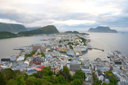 Alesund panorama. Norway