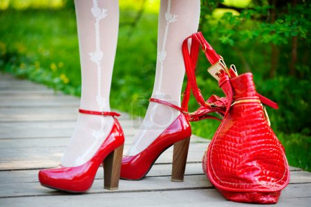 Sexy red shoes
