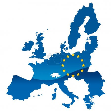 Photo for European union map - Royalty Free Image