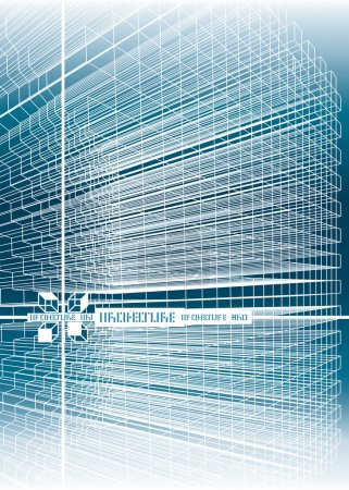 Illustration for Structure lines background, vector illustration layers file. - Royalty Free Image