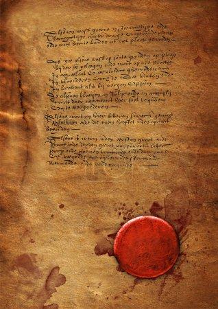 Photo pour Ancienne texture de papier vintage - image libre de droit