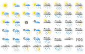 Web weather icons