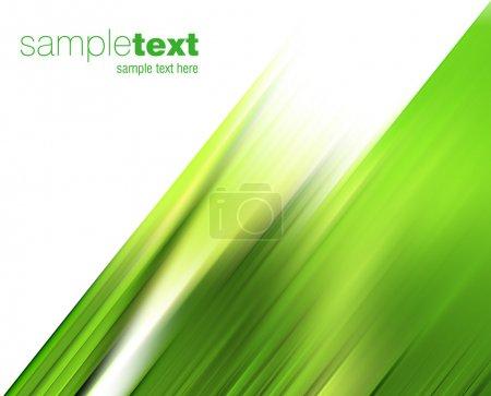 abstrait vent vert