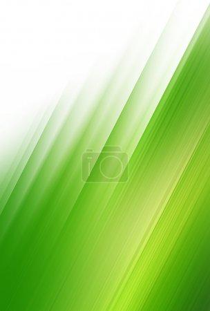 Photo pour Fond de bbstract de vent vert. espace pour texte isolé sur couleur unie - image libre de droit