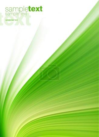 Photo pour Motif abstrait vert (facile à supprimer le texte ) - image libre de droit