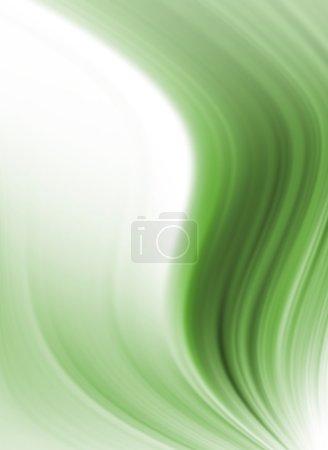 Photo pour Abstrait fond vert et blanc - image libre de droit