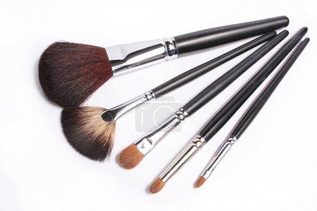 Photo pour Outils pour le maquillage - image libre de droit