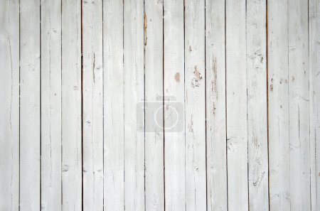 Photo for Close up of a blue wooden fence - Royalty Free Image