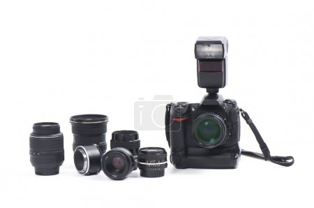 Digital camera and camera equipment