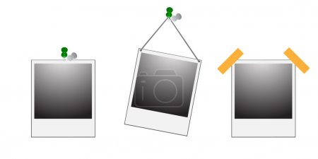 Photo frame or polaroid