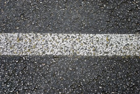 Asphalt With Stripe Texture