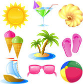 Vacation and travel icon set isolated on white EPS 8 JPEG AI