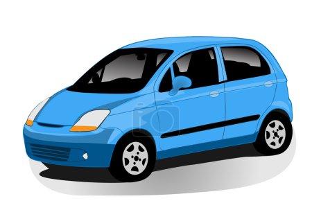 Illustration for Automobile illustration - Royalty Free Image