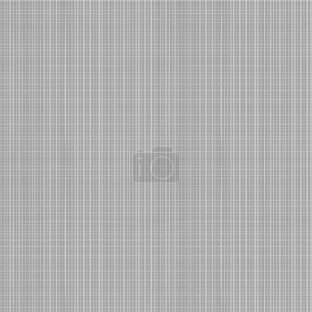 Illustration for Seamless (you see 4 tiles) gray colors canvas fabric pattern. Flat colors used, horizontal and vertical threads are accurately matched on their ends. - Royalty Free Image