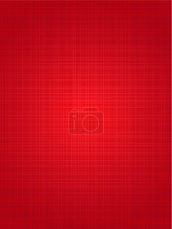 Illustration for Christmas red colors vertical background with fabric texture - Royalty Free Image