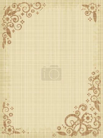 toile impression floral fond