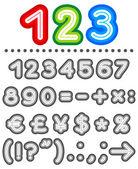 Line letters alphabet set part 2