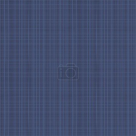 Illustration for Easy tilable (you see 4 tiles) dark denim fabric repeat pattern (print, seamless, background, wallpaper, swatch) - Royalty Free Image