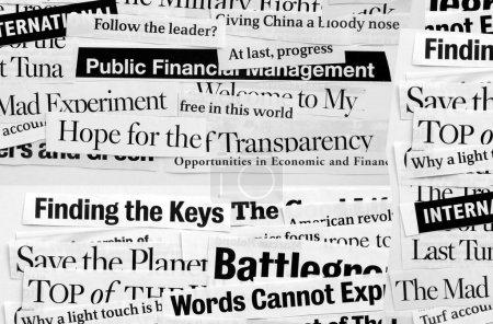 Paper headlines
