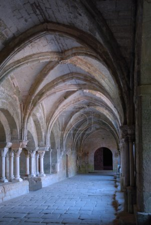 Cloister in abbey