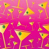 Martini seamless background