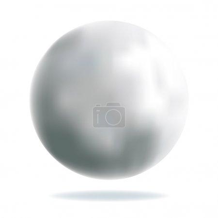 Shiny Silver Ball