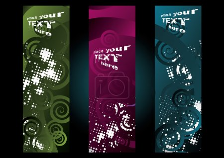 Vertical banners