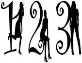 Number 123 models