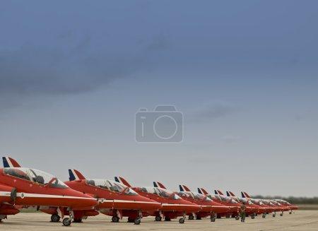 RAF красные стрелы