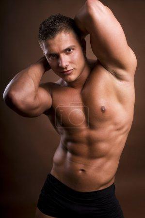 Bodybuilder man.