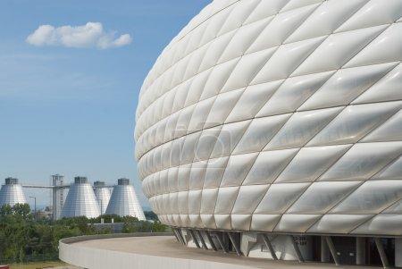 Photo pour L'architecture moderne comme symbole de l'image de marque - image libre de droit