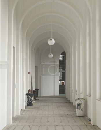 Dirty Corridor at the Art Academy