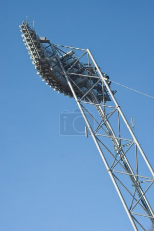Photo for Stadium Lighting Equipment for Night Events - Royalty Free Image