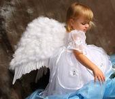 """Постер, картина, фотообои """"девочка ангела"""""""