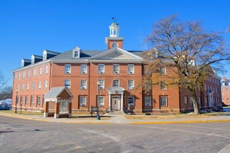 Photo pour Byrd Hall dortoir sur le campus de l'Université d'État de Virginie près de Petersburg, Virginie, l'un des publics, Historiquement noir Collèges et Universités (HBCU - image libre de droit