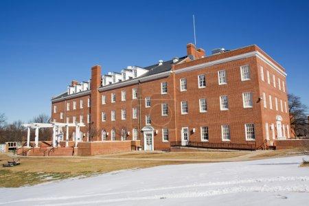 Photo pour Foster Hall sur le campus de l'Université d'État de Virginie près de Petersburg, Virginie, l'un des publics, Historiquement noir Collèges et Universités (HBCU ) - image libre de droit