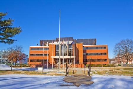 Photo pour Bibliothèque Johnson Memorial sur le campus de l'Université d'État de Virginie près de Petersburg, Virginie, l'un des publics, Historiquement noir Collèges et Universités - image libre de droit